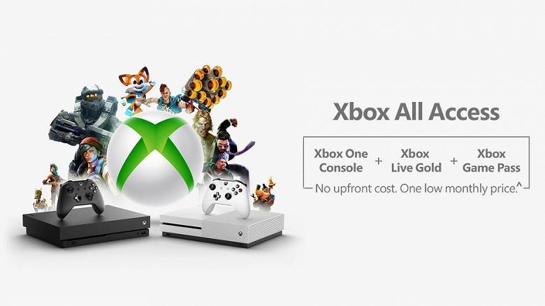 Microsoft начала продавать консоли Xbox за ежемесячную подписку
