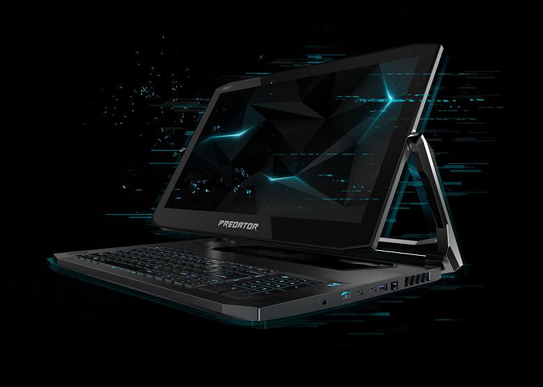 Acer анонсировала игровой ноутбук-трансформер Predator Triton 900