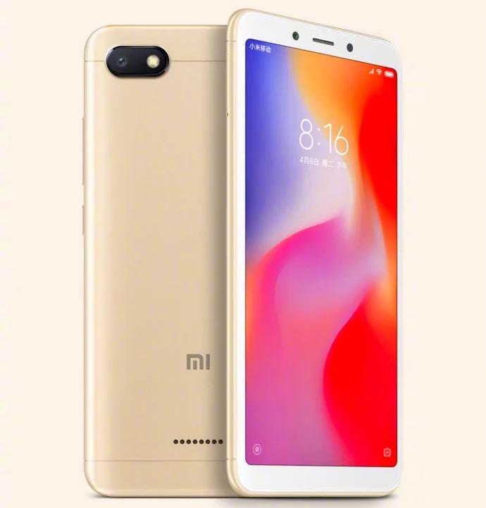 Xiaomi снизила цены насамый недорогой смартфон Redmi 6A
