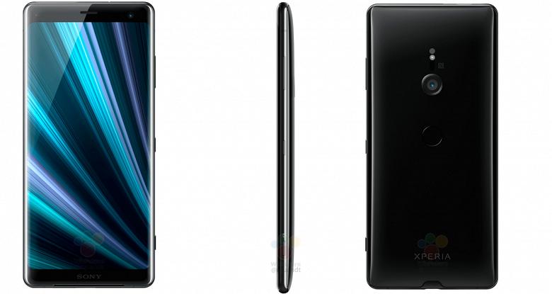 Смартфон Sony Xperia XZ3 красуется на официальных изображения за несколько часов до анонса