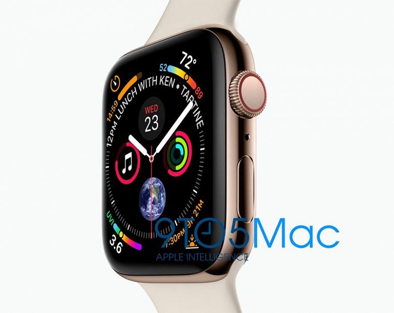 В сеть утекло официальное изображение новых смарт-часов Apple Watch