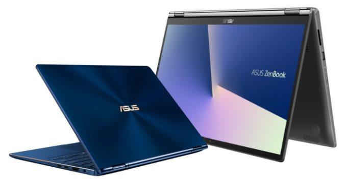 Asus обновила ноутбуки ZenBook Flip 13 и 15