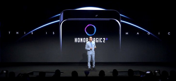 Смартфон Honor Magic 2 получит 40-ваттное ЗУ и конструкцию, как у Oppo Find X