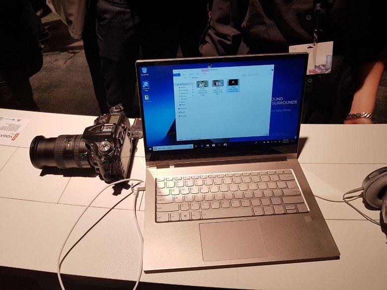 Lenovo Yoga C930 — трансформируемый ноутбук со стилусом и необычным расположением динамиков