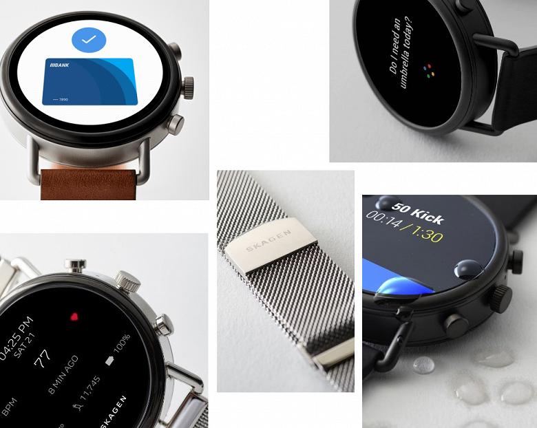 Умные часы Skagen Falster 2 на базе Wear OS выделяются на фоне конкурентов дизайном