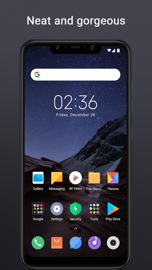 Лаунчер как у Xiaomi Pocophone F1 стал доступен для других смартфонов