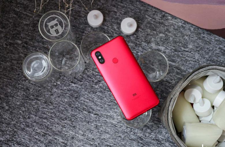 Смартфон Xiaomi Mi 6X существенно подешевел