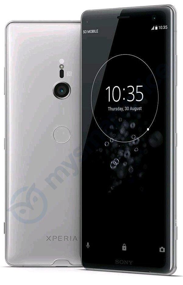 Смартфон Sony Xperia XZ3 показался на качественном рендере