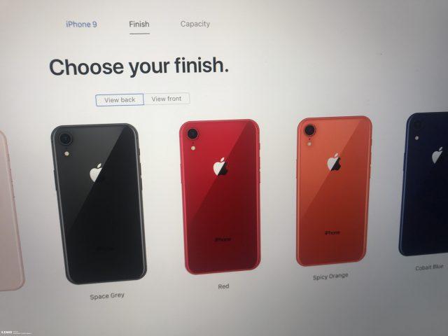 Страничка iPhone 9 всплыла на официальном сайте Apple раньше времени