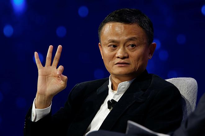 Джек Ма сегодня объявил о своем уходе из Alibaba