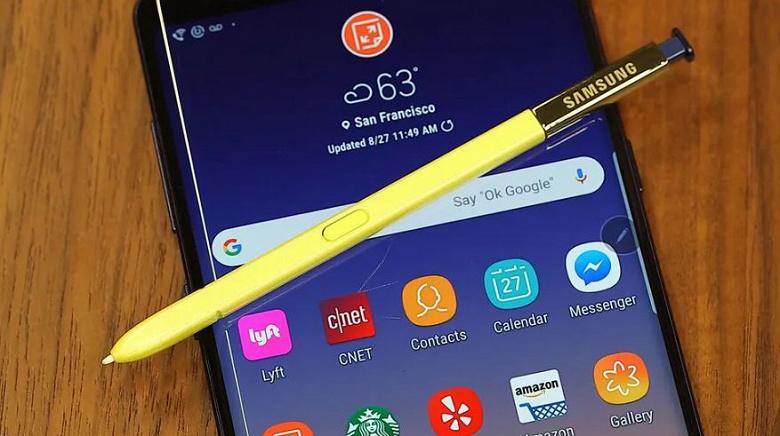 Galaxy Note9 загорелся в женской сумочке