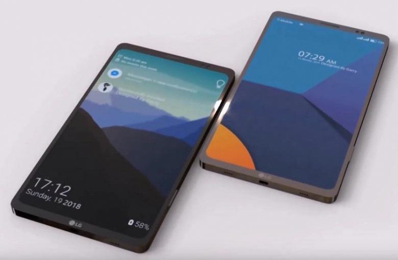 Возможно, так будет выглядеть смартфон LG Q9