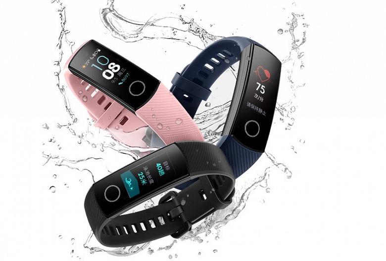 Умный браслет Huawei Band 3 Pro засветился в США