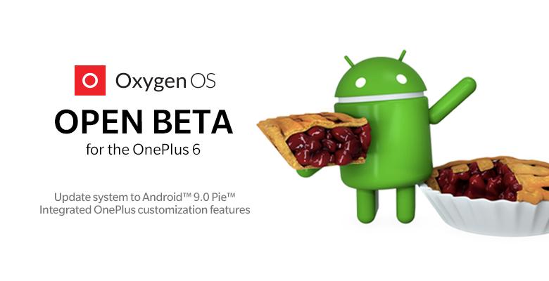 OnePlus 6 получил первую прошивку на базе Android 9.0 Pie