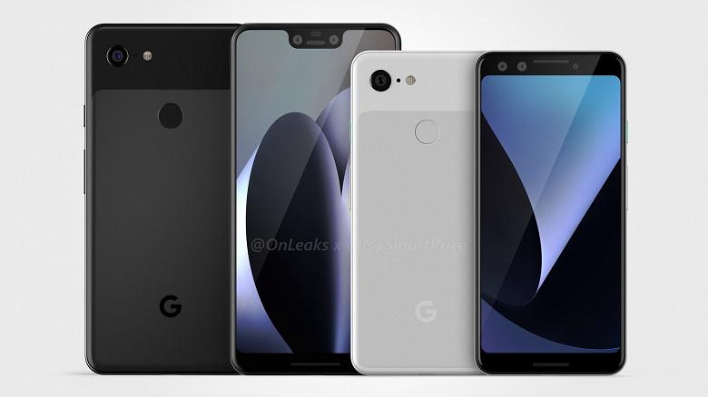 Смартфоны Google Pixel 3 и Pixel 3 XL прошли сертификацию в США