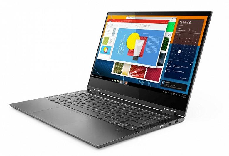 Ноутбук Lenovo Yoga C630 WOS с SoC Snapdragon 850, который работает 25 часов на одной зарядке, выйдет в ноябре