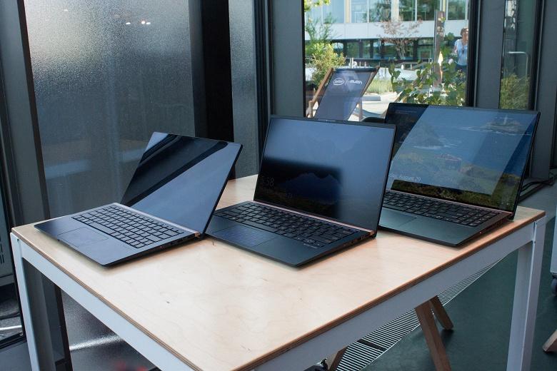 Asus показала на IFA 2018 новые ноутбуки