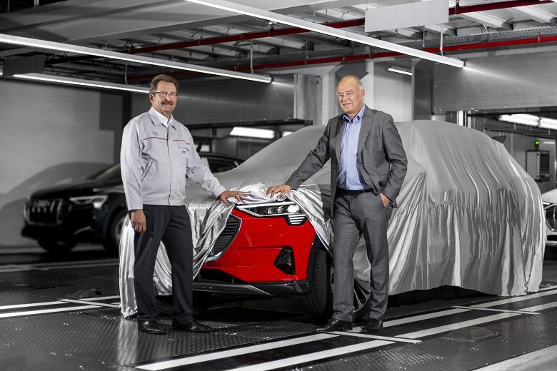 Первый электрический кроссовер Audi запущен в массовое производство