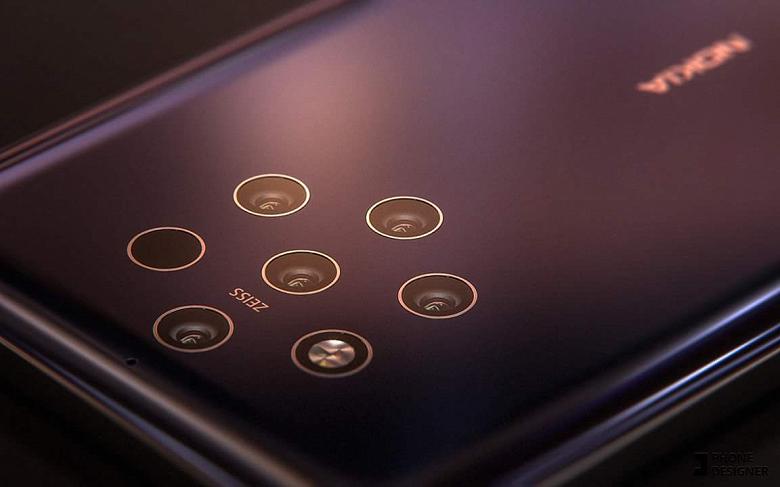 Смартфон Nokia 9 с «пентакамерой» теперь ожидается в феврале