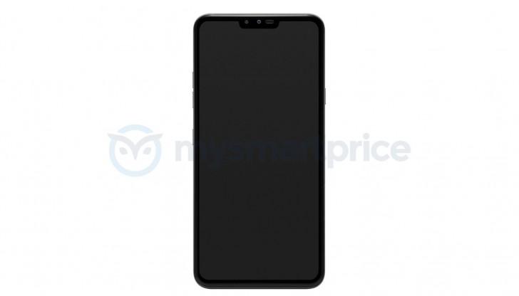 Смартфон LG V40 ThinQ похож на iPhone X с меньшей «челкой»