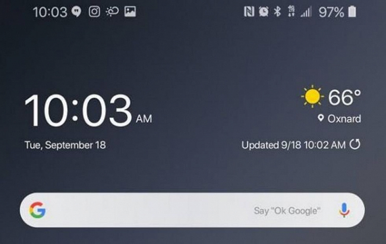 Смартфон Samsung Galaxy S9+ на Android Pie, как это выглядит