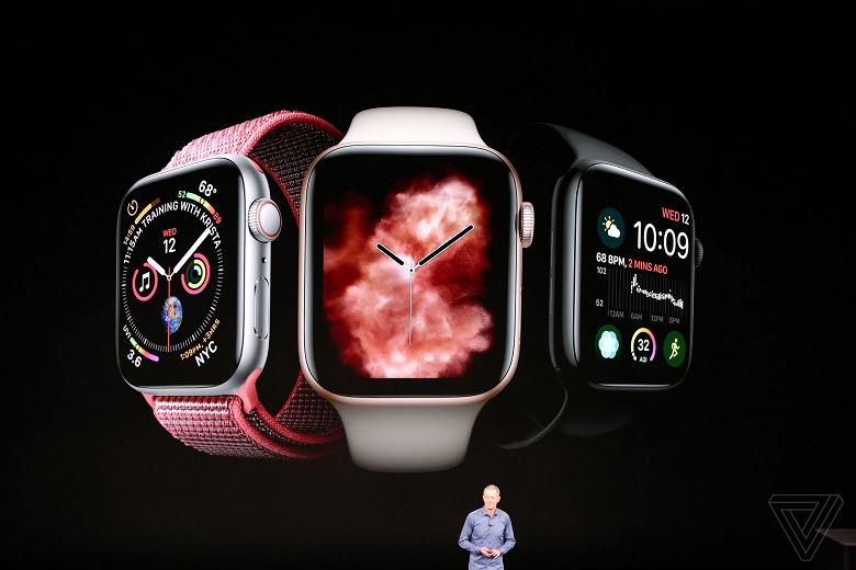 Представлены умные часы Apple Watch Series 4
