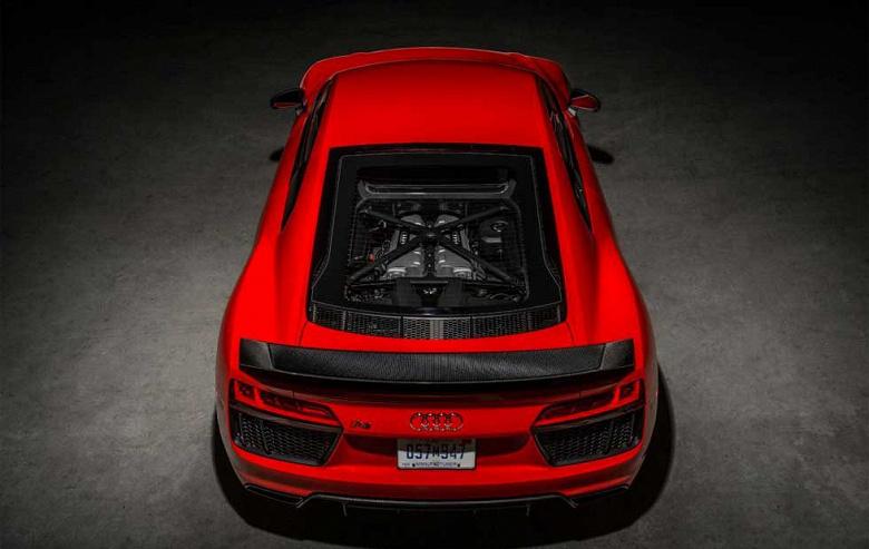 Так выглядит Audi R8 текущего поколения