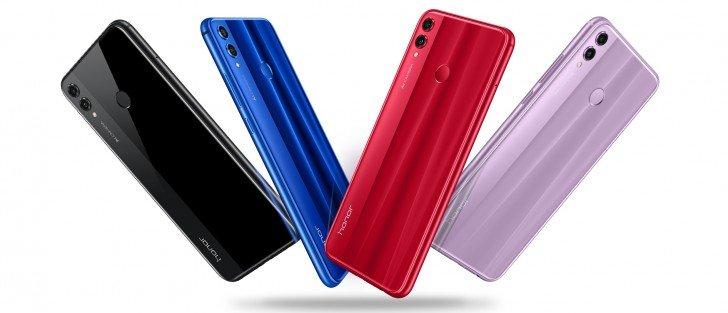 Смартфон Honor 8X выходит за пределы Китая
