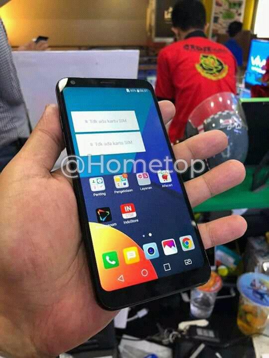 Смартфон LG Q9 показался на живой фотографии