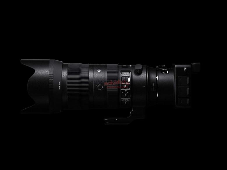 Появились изображения объектива Sigma 70-200mm F2.8 DG OS HSM | Sports