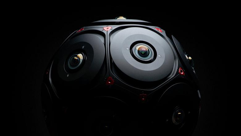 Facebook Manifold — сферическая камера с 16 датчиками Red Helium 8K