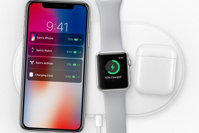 Apple могла отказаться от проекта беспроводной зарядки AirPower