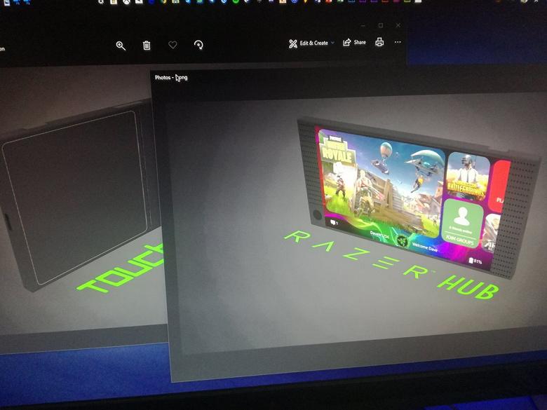 Появились первые изображения игрового смартфона Razer Phone 2