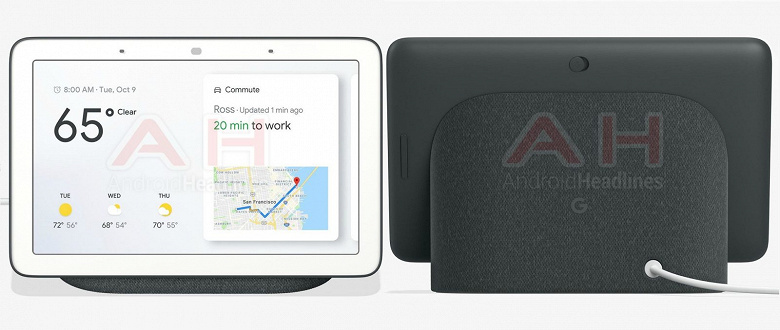 Смарт-дисплей Google Home Hub будет стоить 150 долларов