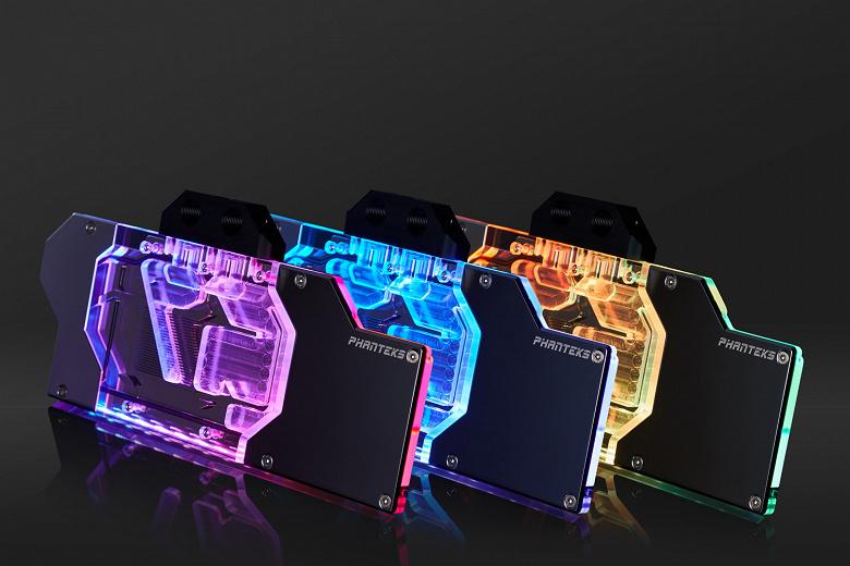 Phanteks выпускает водоблоки Glacier G2080Ti и G2080 для 3D-карт Nvidia RTX