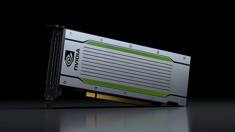 Представлен ускоритель Nvidia Tesla T4, поражающий низким энергопотреблением