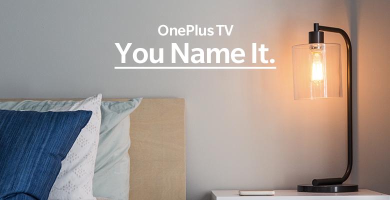 OnePlus подарит свой первый телевизор автору лучшего названия