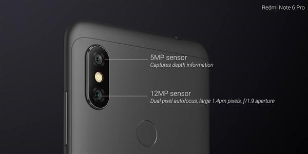 Смартфон Xiaomi Redmi Note 6 Pro представлен официально