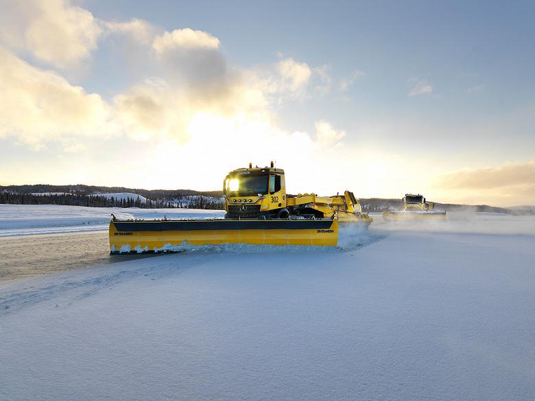 Этой зимой полосы аэропорта Осло будут очищать от снега самоуправляемые машины
