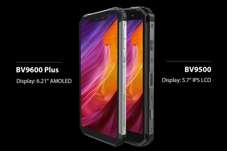 Представлен Blackview BV9600 Plus — защищенный смартфон с подэкранным дактилоскопическим датчиком, экраном AMOLED и сканером лиц