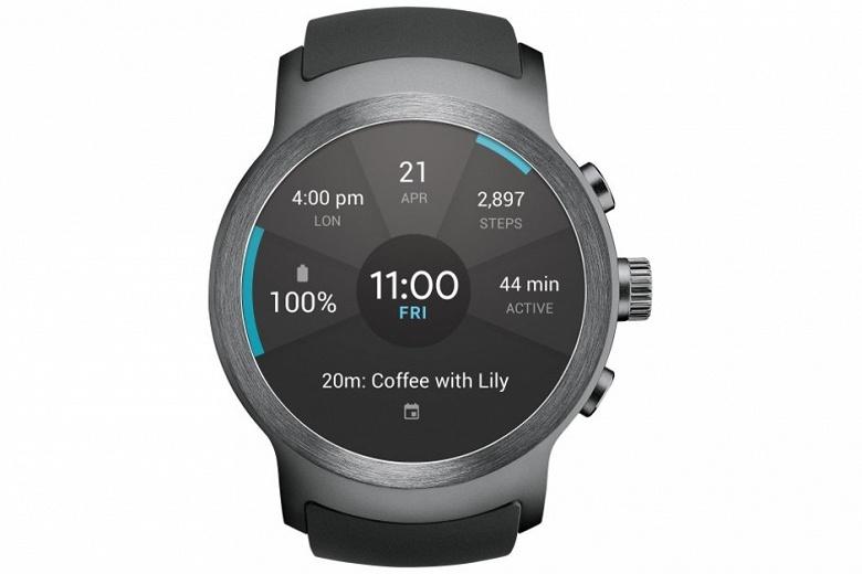 Вместе со смартфоном V40 ThinQ будут представлены и умные часы LG Watch W7