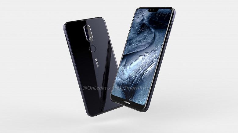 Смартфон Nokia 7.1 Plus красуется на видео со всех сторон