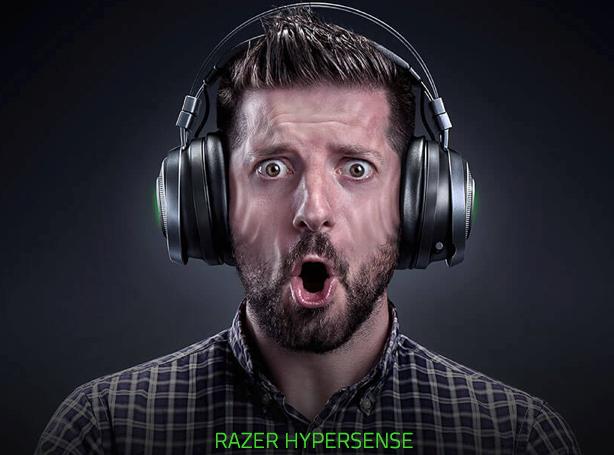 Беспроводные наушники Razer Nari с функцией тактильной обратной связи позволят ощущать звуки по-новому