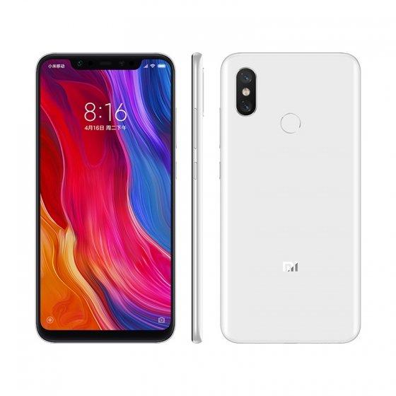 Белый Xiaomi Mi 8 с 8 ГБ ОЗУ и 128 ГБ флэш-памяти поступил в продажу
