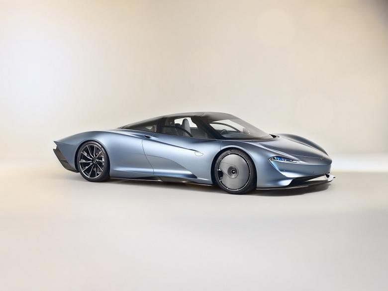 Гибрид McLaren Speedtail будет разгоняться до 300 км/ч за 12,8 с