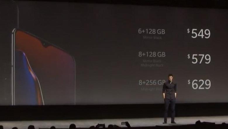Представлен флагманский смартфон OnePlus 6T: улучшенная камера, более емкий аккумулятор и цена 549 долларов