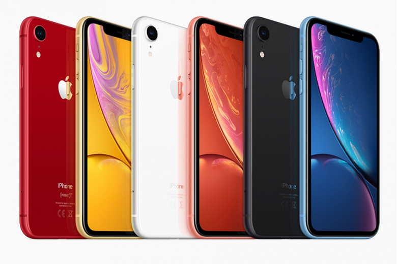 iPhone XR обогнал iPhone 8 и iPhone 8 Plus по предзаказам