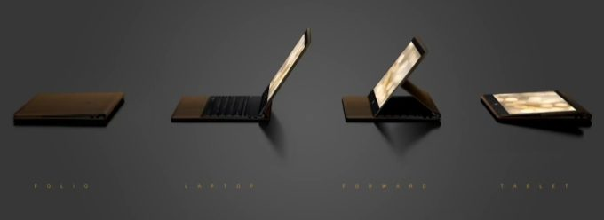HP представила настоящий кожаный гибридный планшет