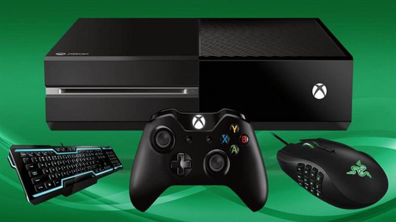 Пользователи Xbox One получили возможность опробовать поддержку клавиатуры и мыши