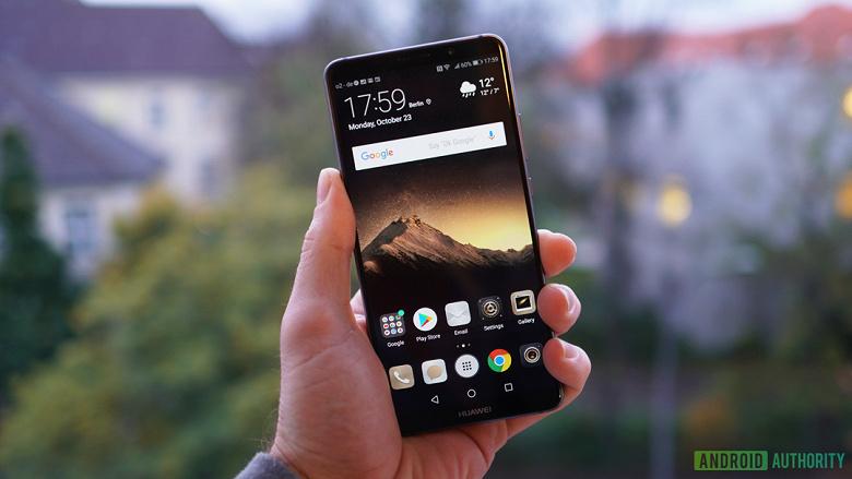 Нет, смартфоны Huawei Mate 10 Pro пока не получают